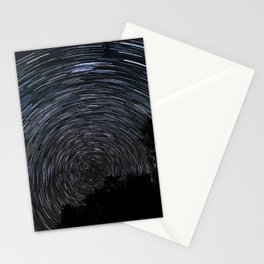 Epic Star Trail Photo Stationery Cards