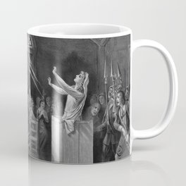 Salem Witch Illustration from 1892 Coffee Mug