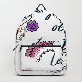 Lets grow old together Backpack