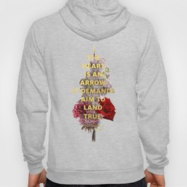 The Heart is an Arrow Hoody