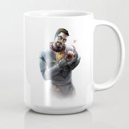 Gordon Freeman and Lamarr Coffee Mug