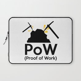 PoW - Proof of Work Laptop Sleeve
