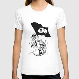 Cap'n at the helm T-shirt