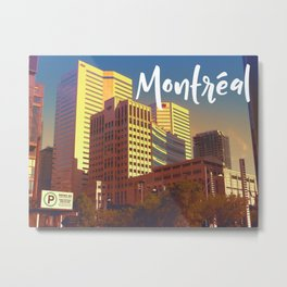 In Love With Montreal Metal Print