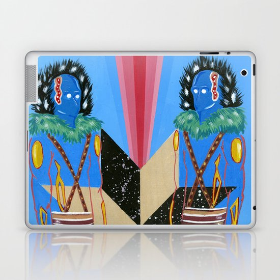 SPACE GODS Laptop & iPad Skin