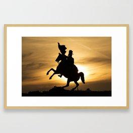 De Heldenplatz  Aartshertog Karel Framed Art Print