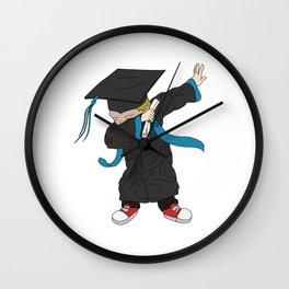 Graduation - Cool Graduation Dab Dabbing Senior Wall Clock