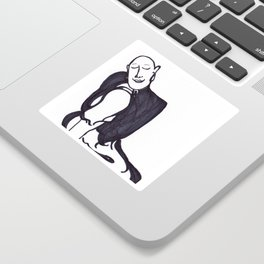 Resting Buddha Sticker