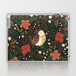 Christmas Robin Laptop & iPad Skin