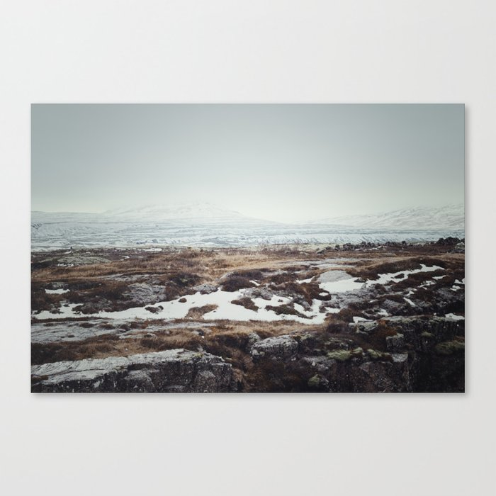 Winter Mountains Canvas Print
