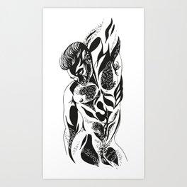 Tristor 1.0 (black) Art Print
