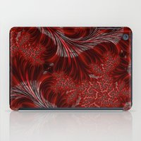 weed iPad Cases featuring Red Weed by Steve Purnell