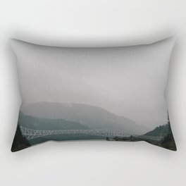 Bridge of the Gods // Oregon Rectangular Pillow