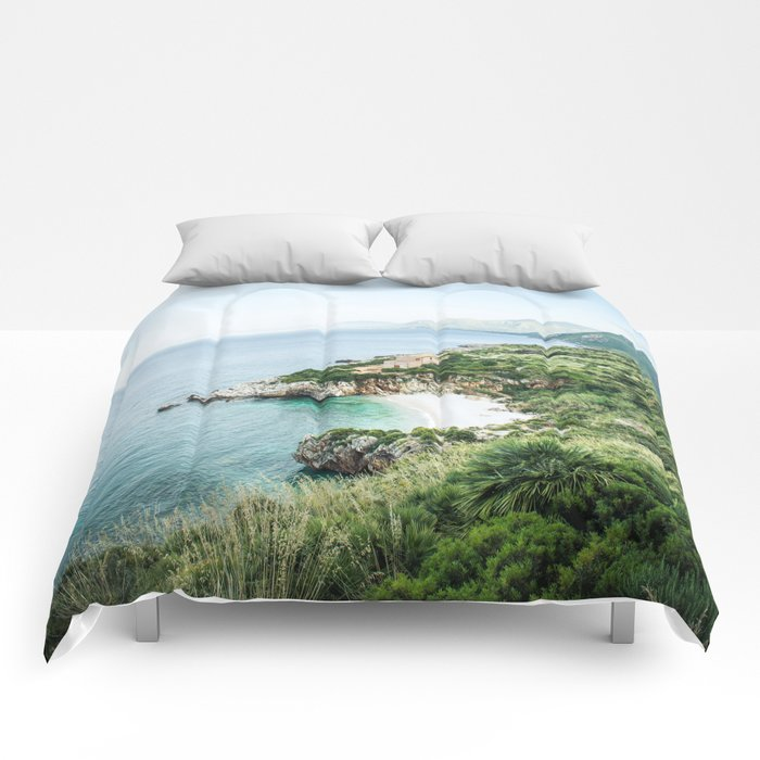 Beach - Landscape and Nature Photography Comforters