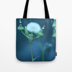 One More Wish (Blue) Tote Bag