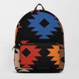 Colorful Southwestern Pattern 538 Backpack