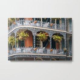 French Quarter, Nola Metal Print