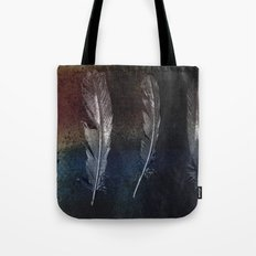 Rusty Feathers Tote Bag