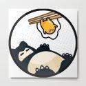 Snorlax Gudetama Lazy Duo (San-x) by heymushimoo