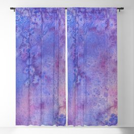 Lilac Waves Blackout Curtain