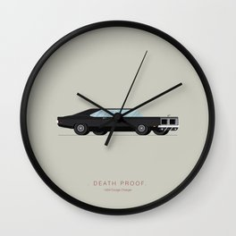 Death Proof | Famous Cars Wall Clock