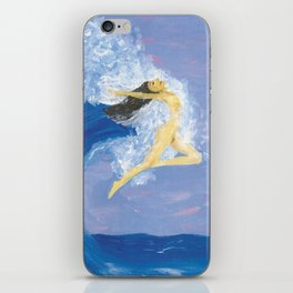 Ocean Sprite iPhone Skin