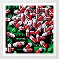 pills Art Prints featuring Pills by noirlac