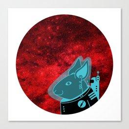 Space Rabbit Canvas Print