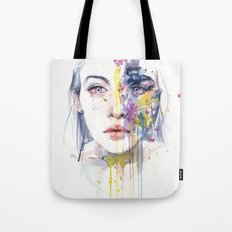 miss bow tie Tote Bag