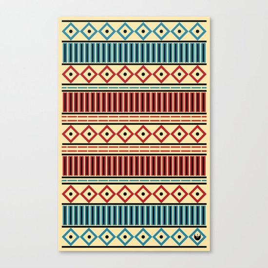 Stitches Pattern Canvas Print