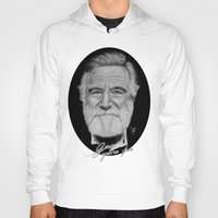 robin williams Hoodies featuring Robin Williams by Svartrev