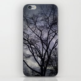 Haunted Sky and Trees iPhone Skin