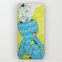 health iPhone & iPod Skins featuring Mental Health by Frenemy