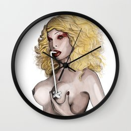 Amanda Lepore - Breast Feeding Wall Clock