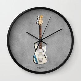 The Mustang Bass Wall Clock
