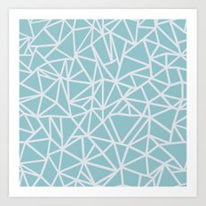 Ab Outline Salt Water Art Print