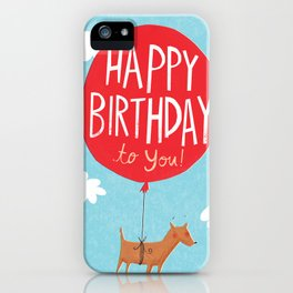 Birthday Balloon iPhone Case