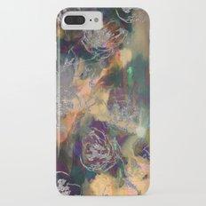 Dark Sparkle Floral Slim Case iPhone 7 Plus