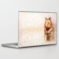 hamster Laptop & iPad Skins featuring hamster by dace k