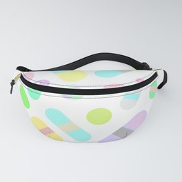 Drugs N Pills Love Your Little Heart Fanny Pack