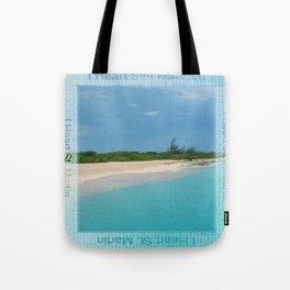 I Heart Sint Maarten - St. Martin Tote Bag