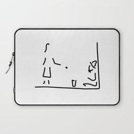 makes a donation homeless Laptop Sleeve