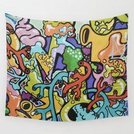 Street art form Wall Tapestry