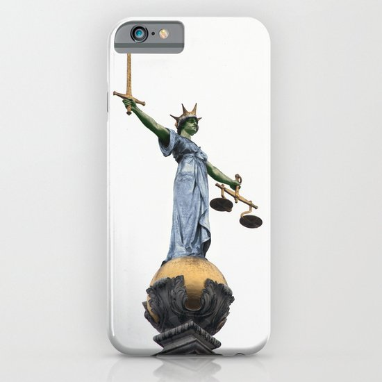 don't make her angry... iPhone & iPod Case