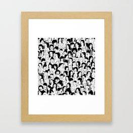 Girlz Framed Art Print