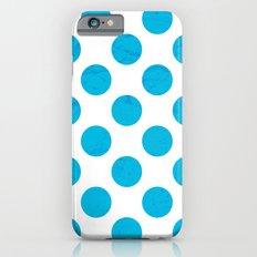 Blue Polka Dot iPhone 6s Slim Case