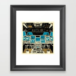To Outer Space! Framed Art Print