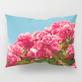 Rose Shrub Pillow Sham