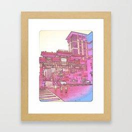 """Iron and Jade"" Framed Art Print"
