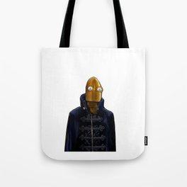 Steampunk Robot Tote Bag